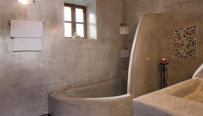 Πατητή-τσιμεντοκονία-μπάνιο